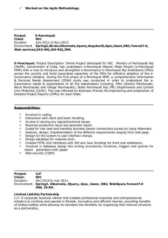 java ee resume 28 images resume format for java j2ee