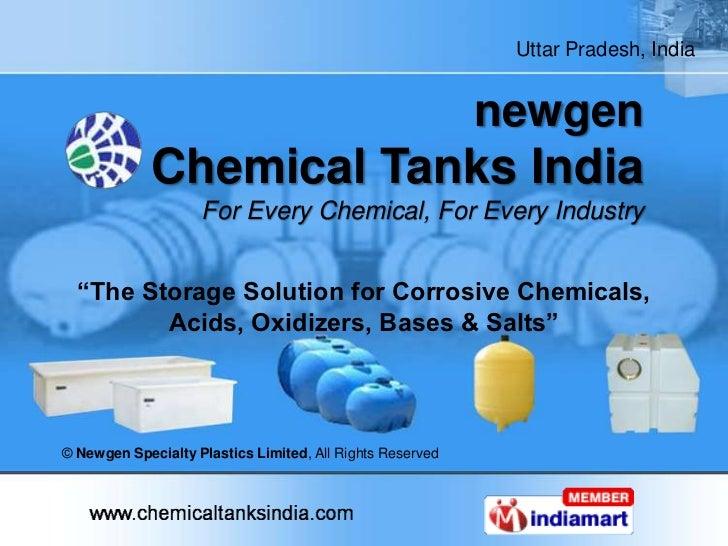 Uttar Pradesh, India                                                           newgen             Chemical Tanks India    ...