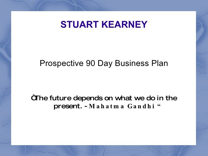 ... plan. Writing the business plan is a crucial stage of starting any
