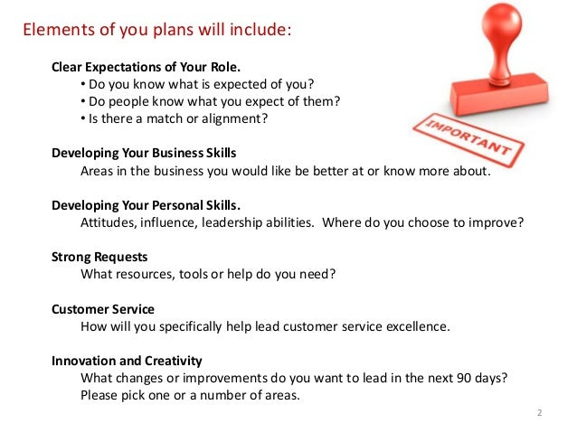 Business training plans