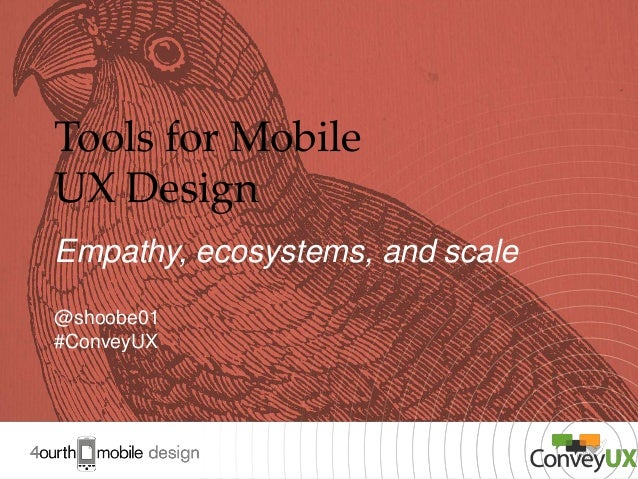 Tools for Mobile UX Design