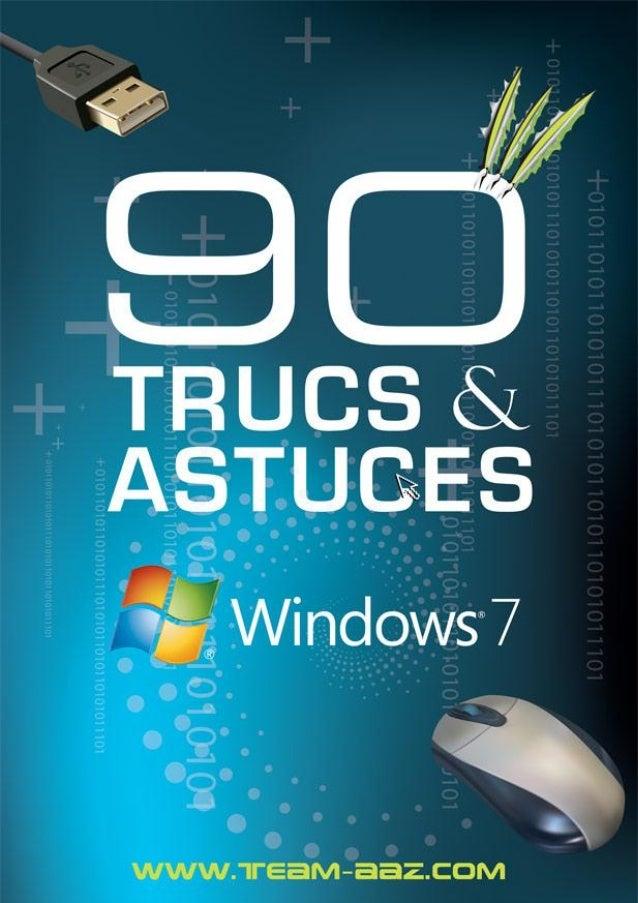1 90 trucs & astuces pour Windows Seven – Team AAZ