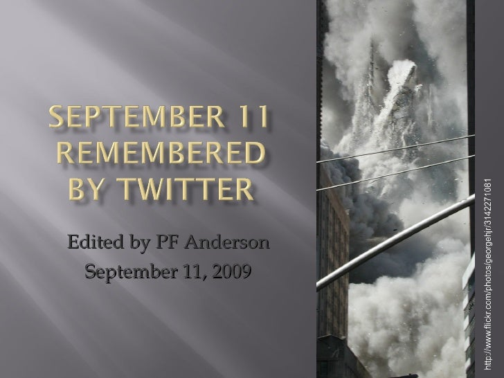 Edited by PF Anderson September 11, 2009
