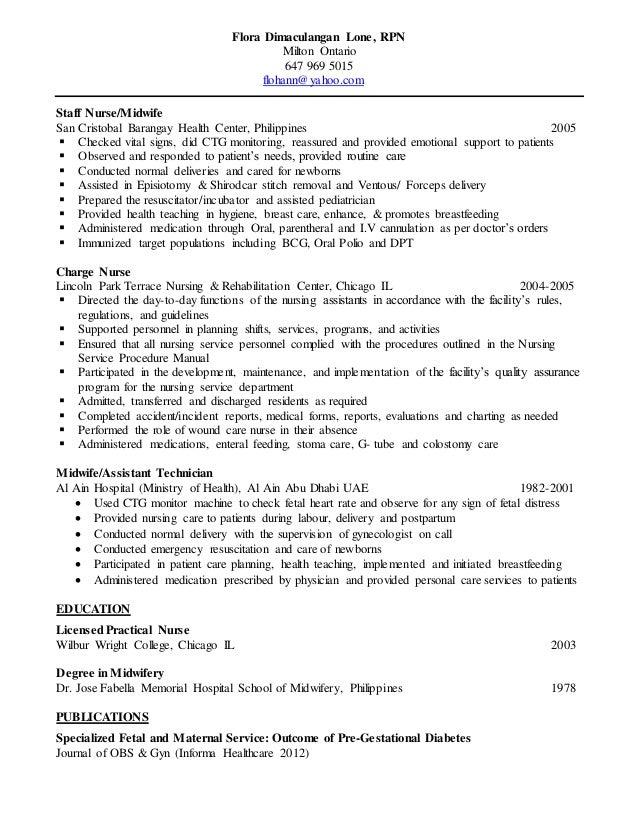 flora lone resume