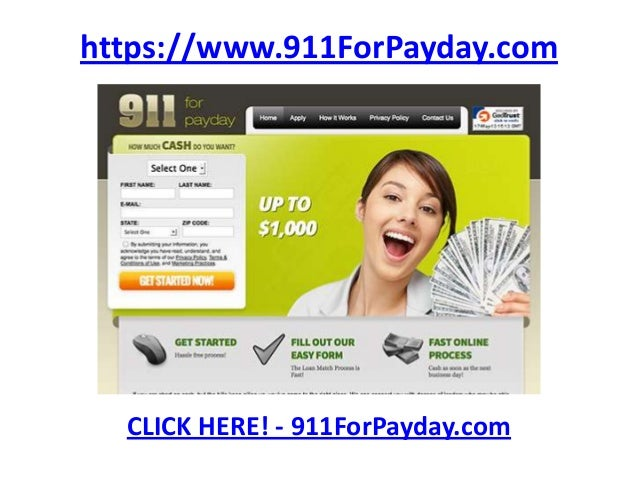 911ForPayDay.com - Apply for a no-hassle payday loan!
