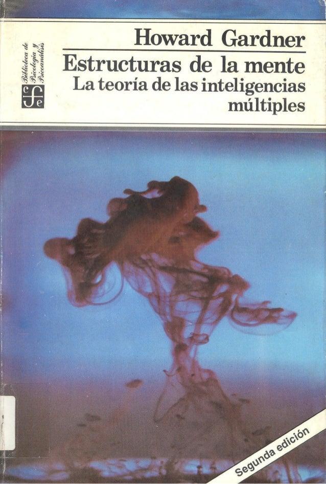 LIBRO  INTELIGENCIAS   MULTIPLES