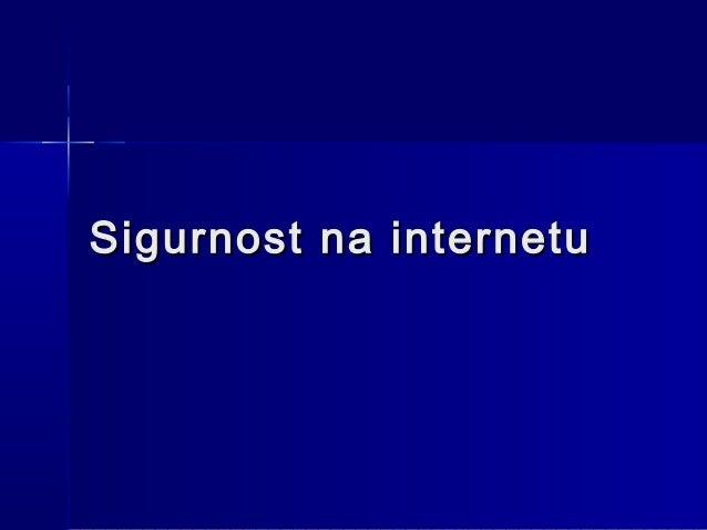 915 sigurnost na internetu