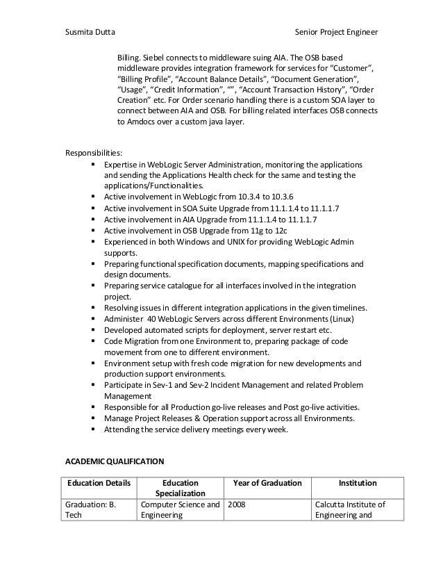 susmita resume