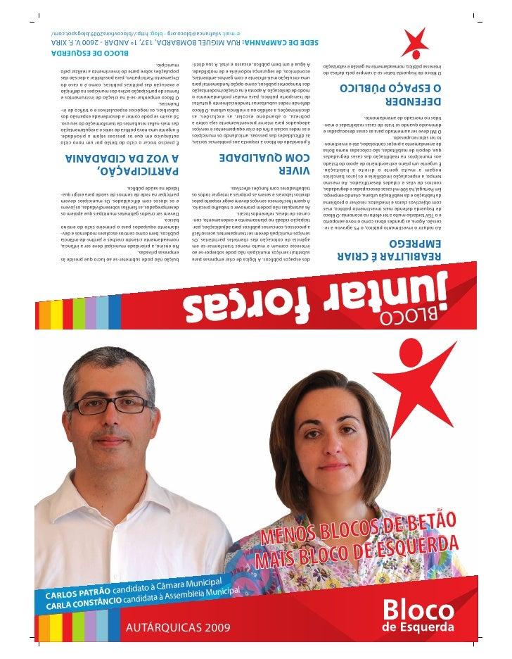 91910 Folheto  Vila  F Xira