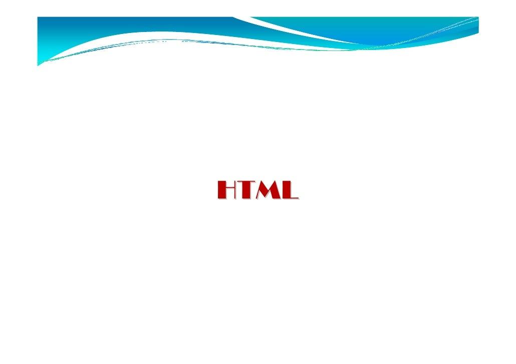 HTML - Introdução