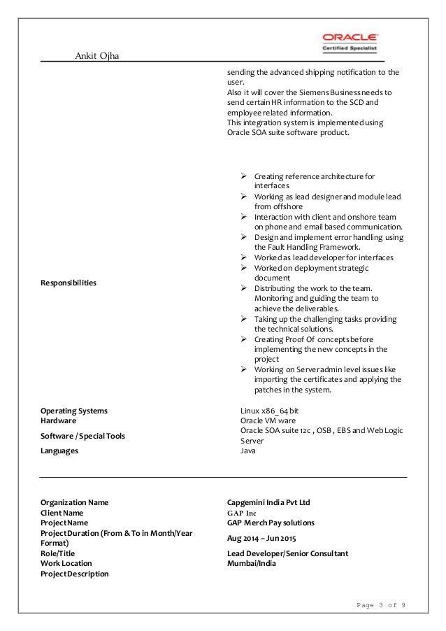 Resume for Sean Speer