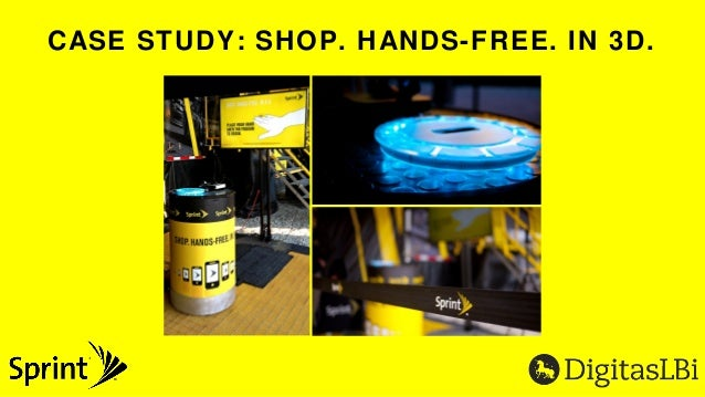 Case Study: DigitasLBi and Sprint's Interactive Retail Experience
