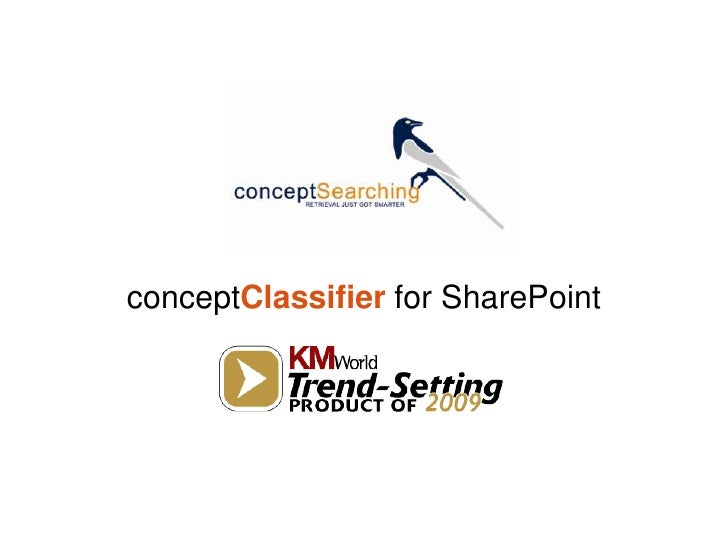 conceptClassifier for SharePoint<br />