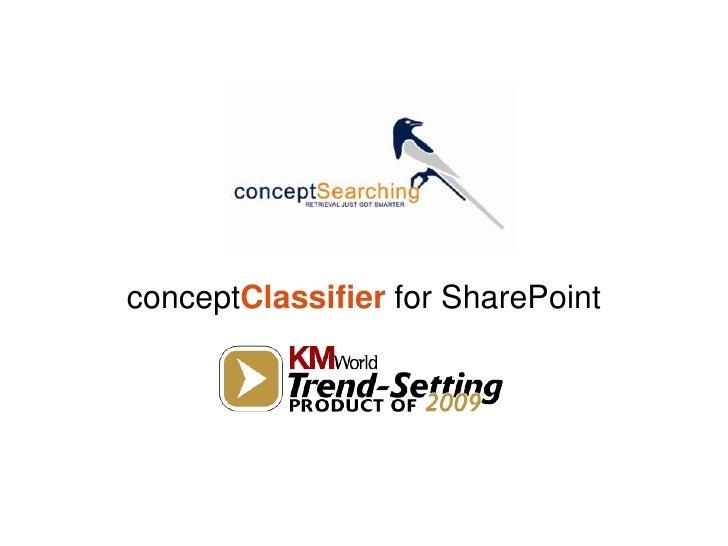Concept Searching Webinar