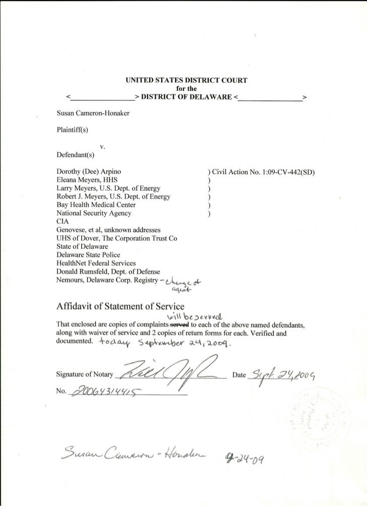 UNITED STATES DISTRICT COURT                                      for the   <                       > DISTRICT OF DELAWARE...