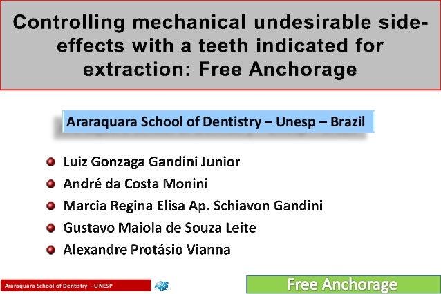 Araraquara School of Dentistry - UNESP Gandini Jr., L.G. & Gandini, M.R.E.A.S.Araraquara School of Dentistry – Unesp – Bra...