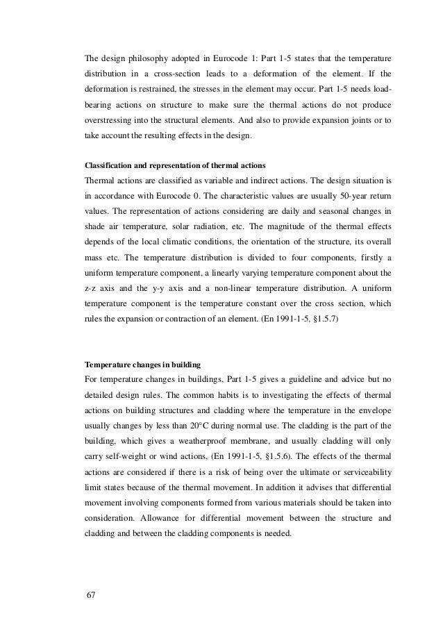 Dissertation design section