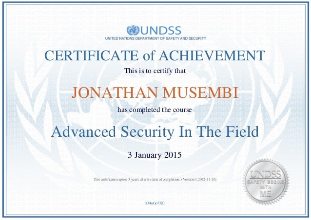 Stanford advanced security certificate : FOREX Trading