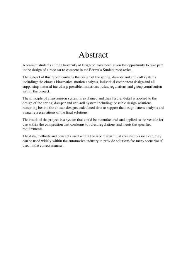 Dissertation arb
