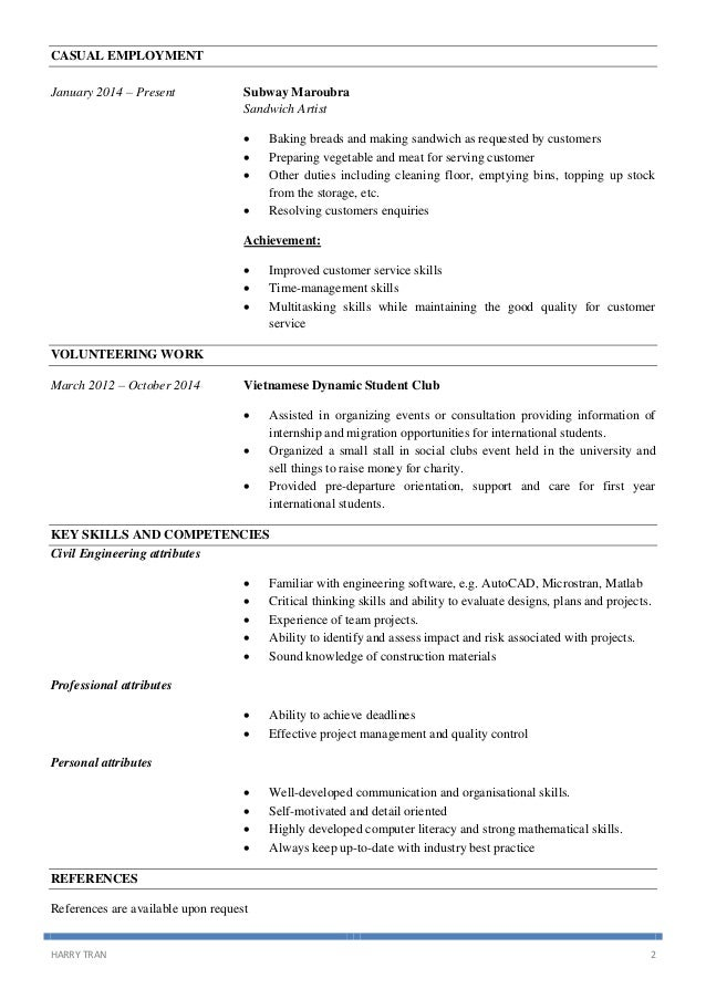 subway resume sample subway job duties description resume related keywords suggestions