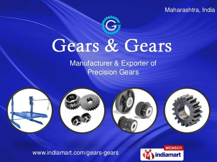 Maharashtra, India            Manufacturer & Exporter of                Precision Gearswww.indiamart.com/gears-gears