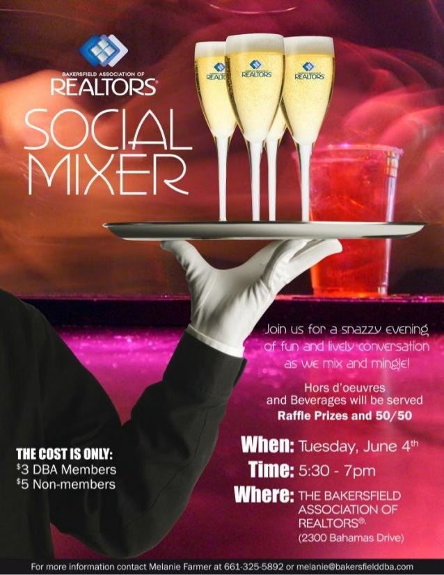 Youth Business Mixer ~ Social mixer flyer