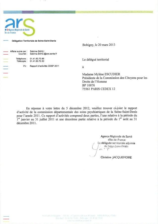 93 rapport activité cdsp 2011