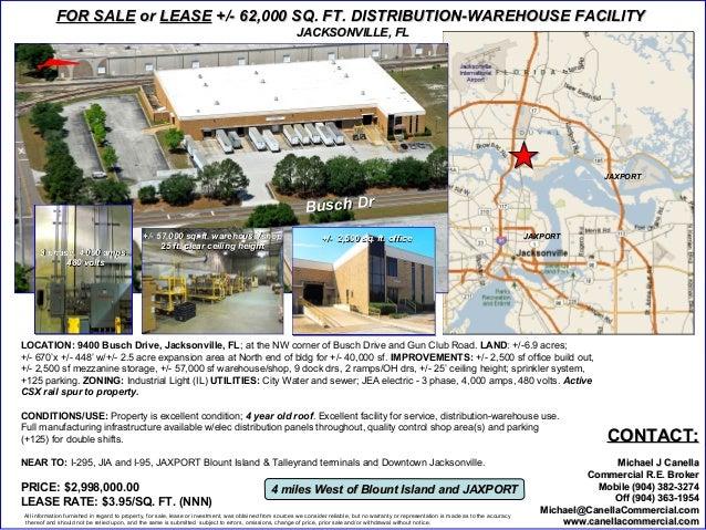 9400 Busch Drive, Jacksonville, FL