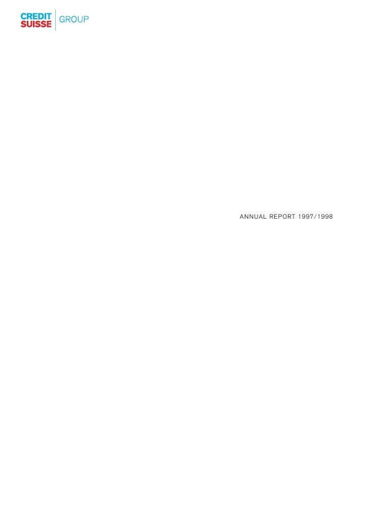 credit-suisse Annual Report Part 1