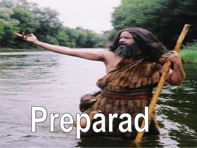 Preparemos el camino del señor, como Juan bautista. Con valentía, honestidad, sinceridad, y sobre todo, ser el mensajero d...