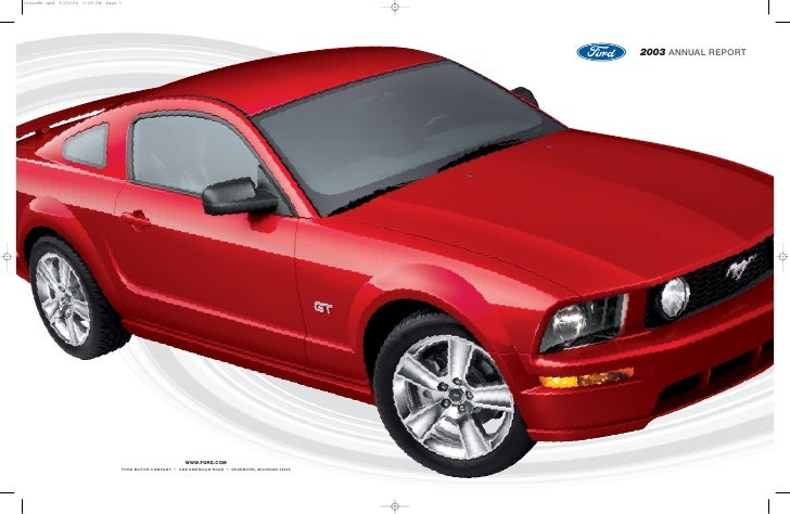 ford 2003 Annual Report