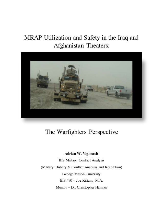 Questions about conflict in Iraq and Afghanistan for position paper:?
