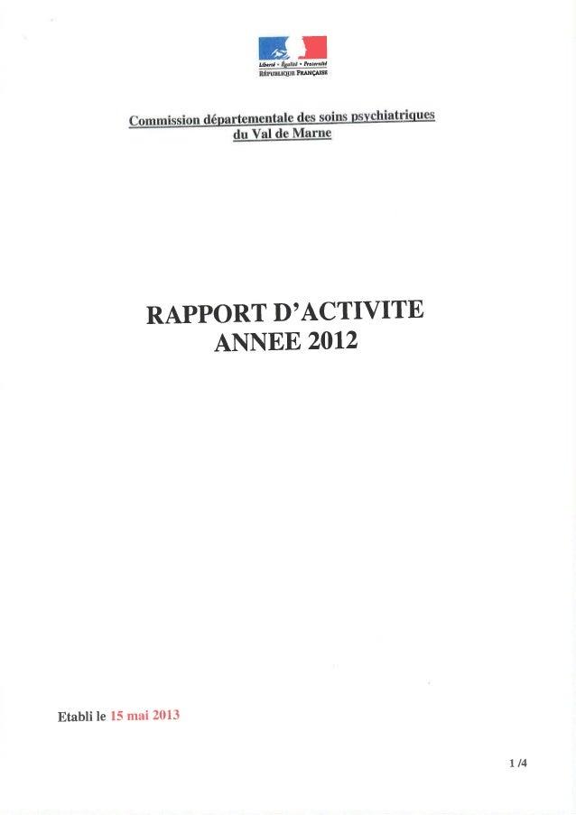 94 rapport activité cdsp 2012