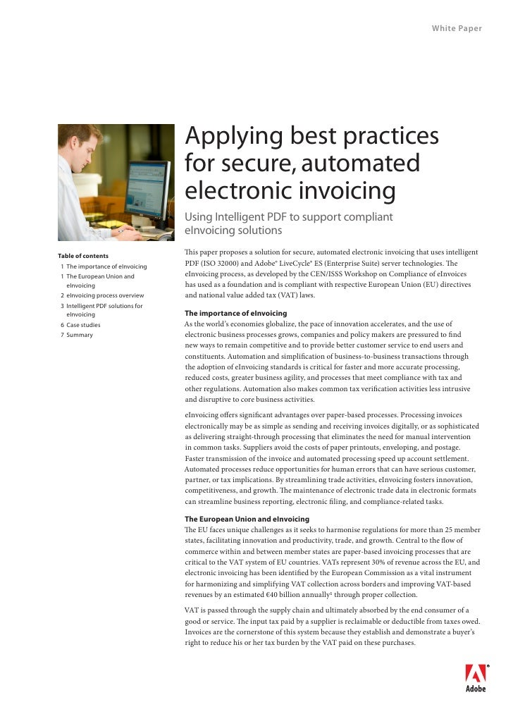 White Paper                                       Applying best practices                                   for secure, au...
