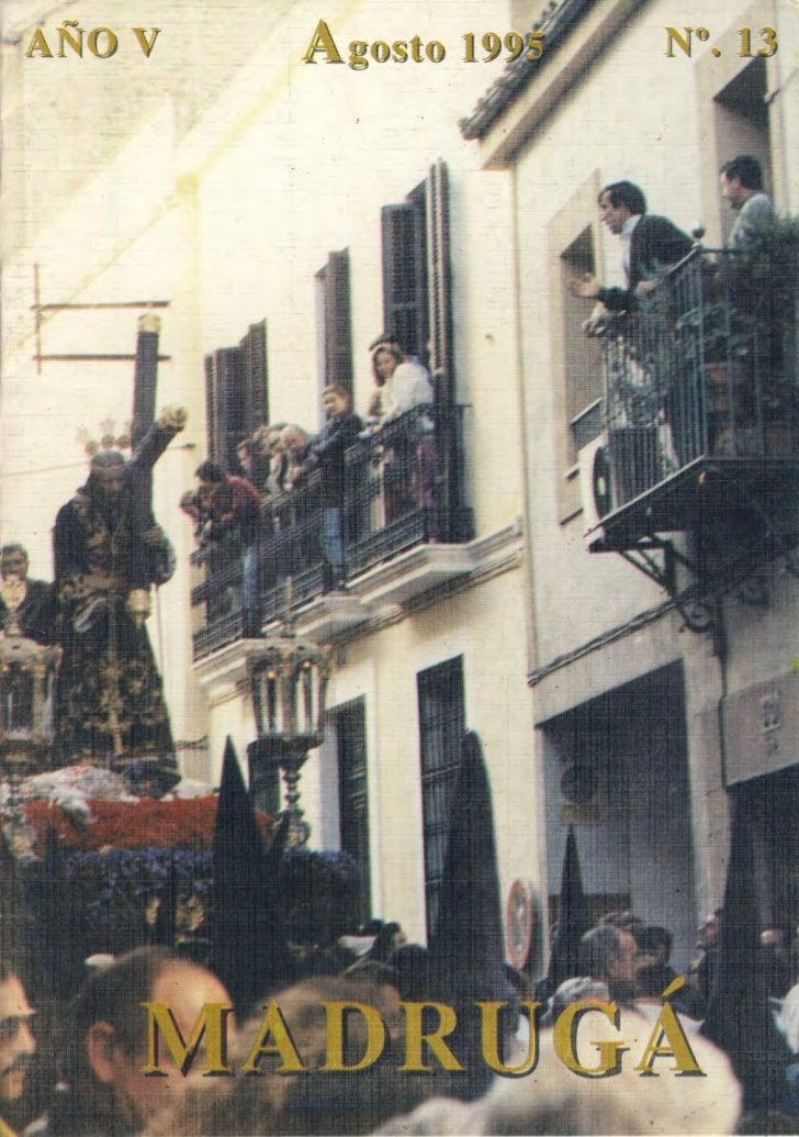 950800 Madrugá 13 - Agosto 1995