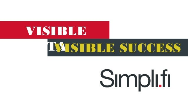 Tech Talk with Simpli.fi: Visible Data, Visible Results950 simplifi