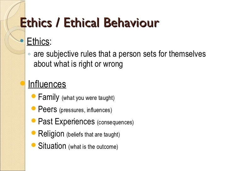 ethics in the business world essay