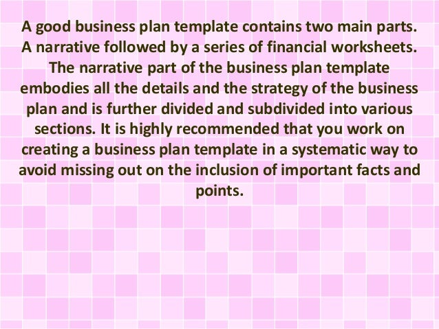 How to make a new business plan
