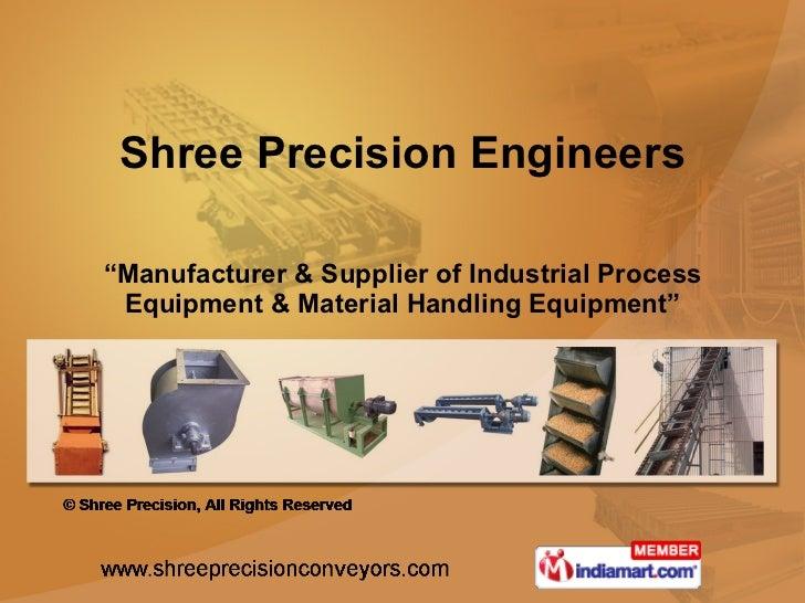 Shree Precision Engineers Maharashtra India