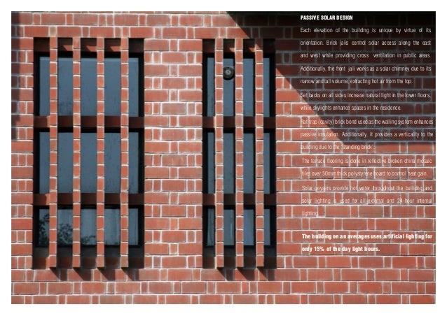 Htau karnal medical centre project sheet for Brick elevation design