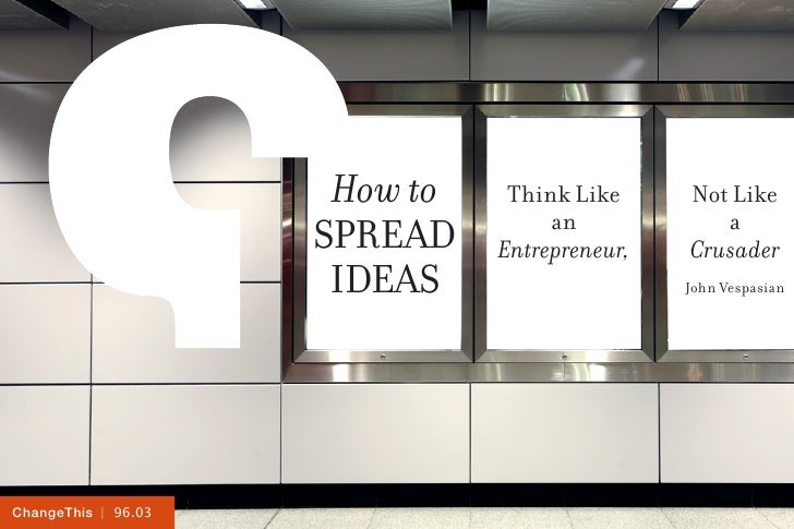 How to    Think Like     Not Like                                    an            a                     Spread    Entrepr...