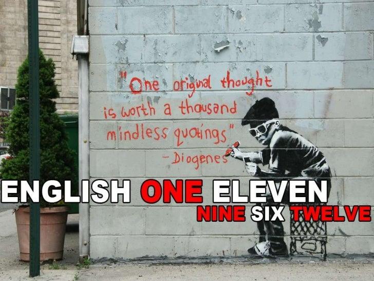 English 111 September 6, 2012
