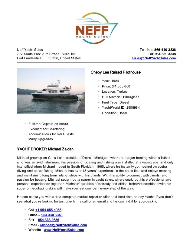 96' 1984 cheoy lee raised pilothouse yacht for sale   neff yacht sales