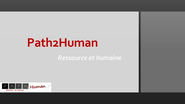Path2Human Ressource et humaine