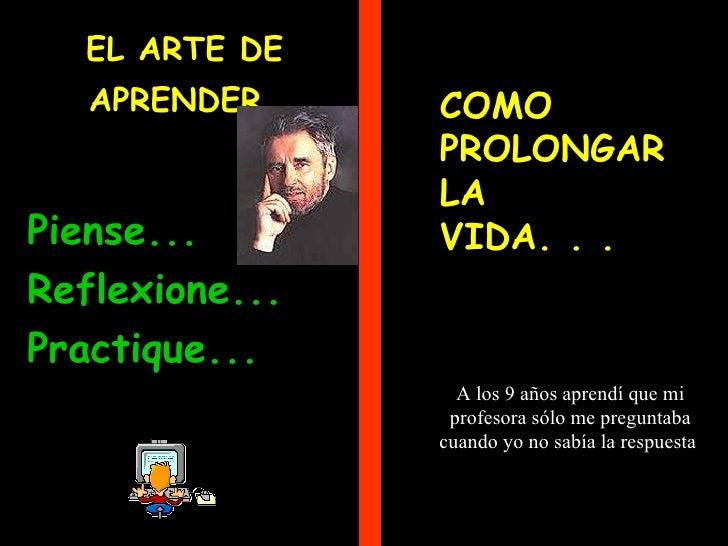 96511 El Arte De Aprender
