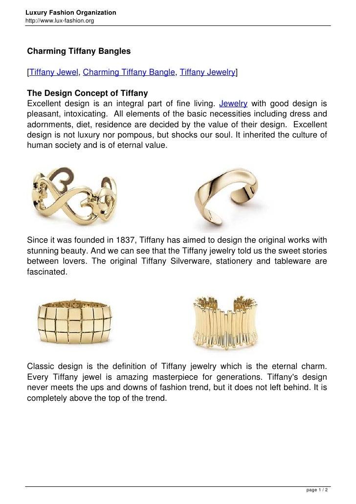 Luxury Fashion Organizationhttp://www.lux-fashion.orgCharming Tiffany Bangles[Tiffany Jewel, Charming Tiffany Bangle, Tiff...