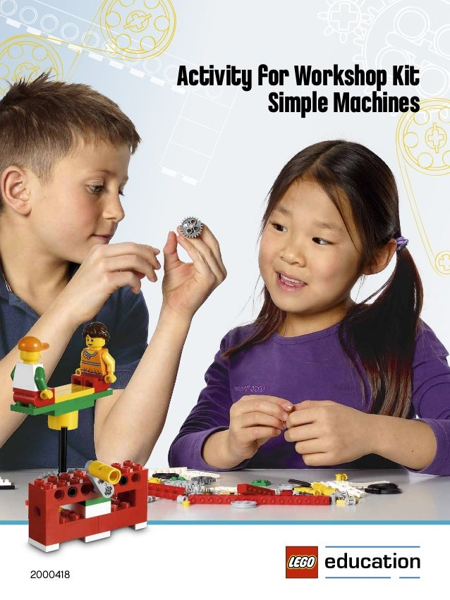 Activity for Workshop Kit Simple Machines 2000418