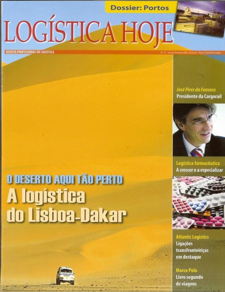 A logística do Lisboa-Dakar