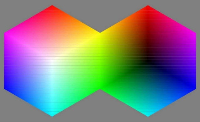 96 Perspectives on the Peace Cubes / Virtual Light & Colour Cubes