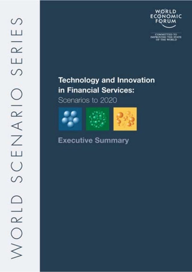 Technology and Innovation in Financial Services Scenarios